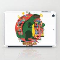 godzilla iPad Cases featuring GODZILLA by Katboy 7