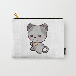 Happy Kitten Kawaii Carry-All Pouch