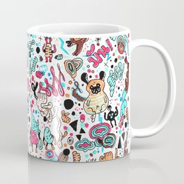 pug in monster land 2 Coffee Mug