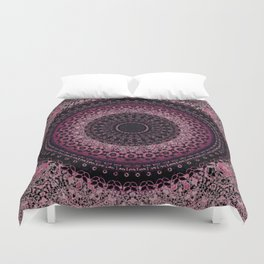 Rosewater Tapestry Mandala Duvet Cover