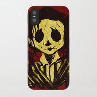 edward scissorhands iPhone & iPod Cases featuring Edward Scissorhands by Jide