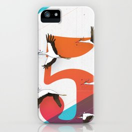 5Birds iPhone Case