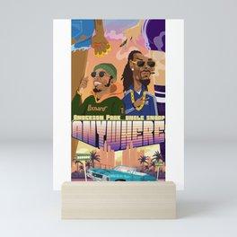Anywhere itsavibe Mini Art Print