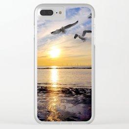 in flight Clear iPhone Case