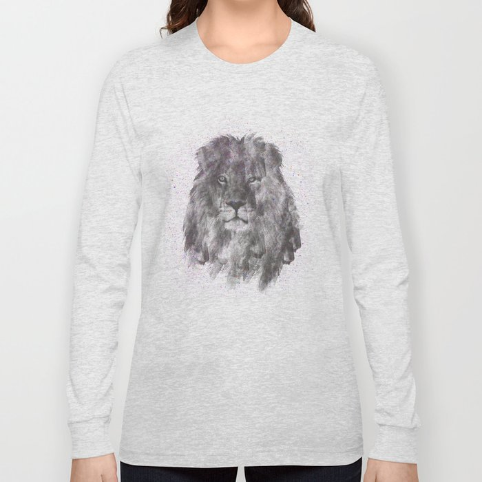 Lion Just Wants to have Fun Long Sleeve T-shirt