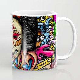Gueisha Doodle Coffee Mug