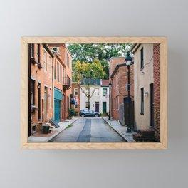 Bethel Street Framed Mini Art Print