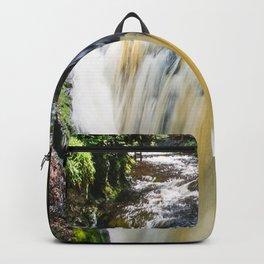 Blurred Lower Gorge Falls Backpack