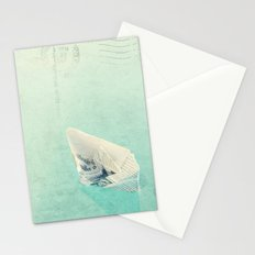 The boat Stationery Cards