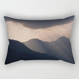 let there be night Rectangular Pillow