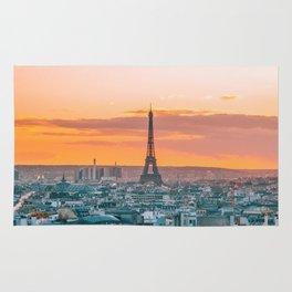 Sunset in Paris (Color) Rug