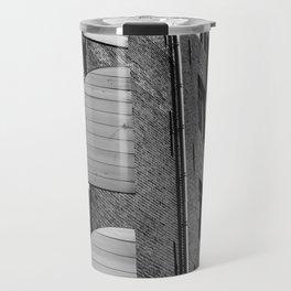 Window Shutter Textures Travel Mug