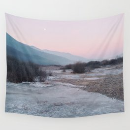 Frozen morning Wall Tapestry