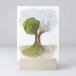 Duality Tree Mini Art Print