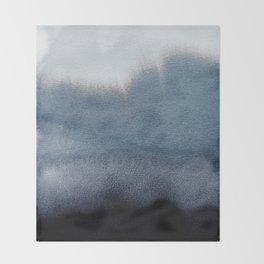 In Blue Throw Blanket