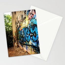 A -not so- clear path Stationery Cards