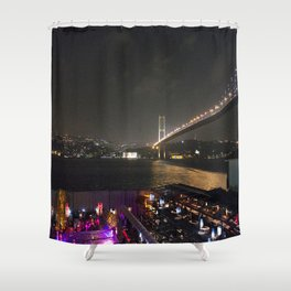 Istanbul Lights! Shower Curtain