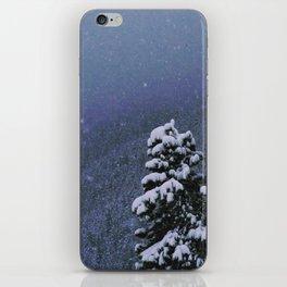 Falling Snow iPhone Skin