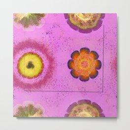 Verisimilitude Undraped Flowers  ID:16165-124635-29541 Metal Print