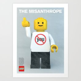 The Misanthrope Art Print