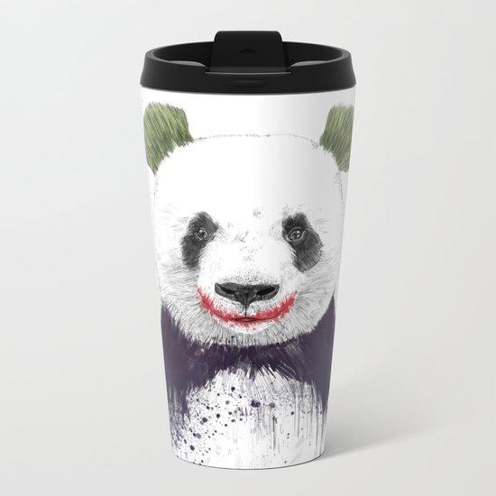 Jokerface Metal Travel Mug