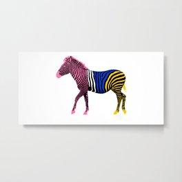 Zebra 16A Metal Print