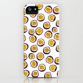 Passion fruit psico iPhone Case