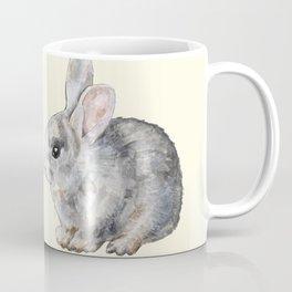 Bunny Love in Yellow Coffee Mug
