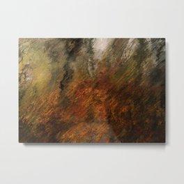 Autumn Trails Metal Print