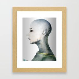 Graphic Abstract Framed Art Print