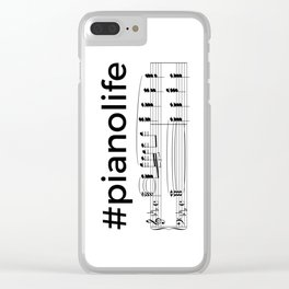 #pianolife Clear iPhone Case