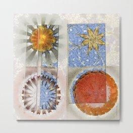 Goondie Fact Flower  ID:16165-095608-32641 Metal Print