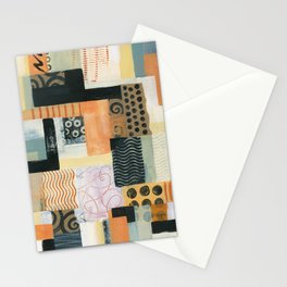 Urban Quilt II Stationery Cards