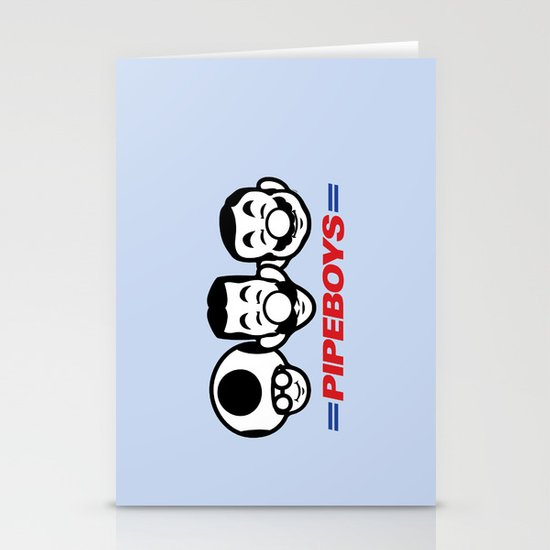 Pipe Boys Stationery Cards