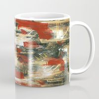 moulin rouge Mugs featuring Rouge by MelissaBeaulieu