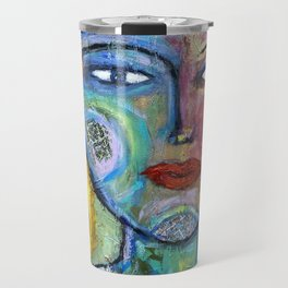 Flower Goddess Travel Mug