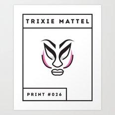 Trixie Mattel Art Print