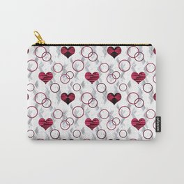 Hearts. Carry-All Pouch