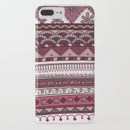 Yzor pattern 004 lilac iPhone Case
