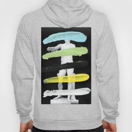 Untitled (Finger Paint 8) Hoody