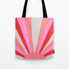 sunshine state, coral Tote Bag