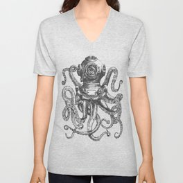 Deep Sea Diver 2 Unisex V-Neck