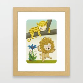 The Call of the Wild Framed Art Print