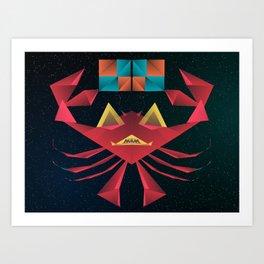 Felipe Teh Crab Art Print
