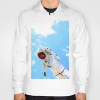 spaceman Hoodies featuring Spaceman by Richwill Company