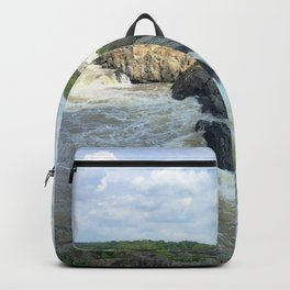 Watercolor Landscape, Great Falls National Park 01, Virginia Backpack