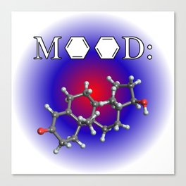 Mood - Testosterone Canvas Print