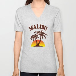 Malibu rum Unisex V-Neck