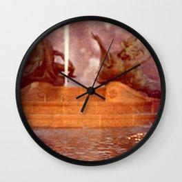 Fountain Momments Philadelphia Wall Clock