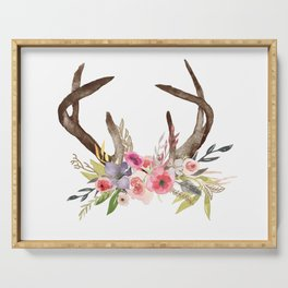 DEER ANTLER Serving Tray